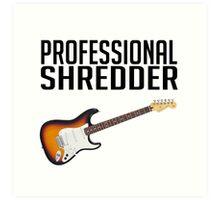 Professional Shredder Art Print