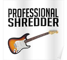 Professional Shredder Poster
