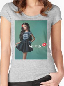 Ayumi N. <3 Women's Fitted Scoop T-Shirt