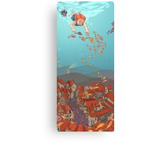 Fishville Canvas Print