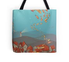 Fishville Tote Bag
