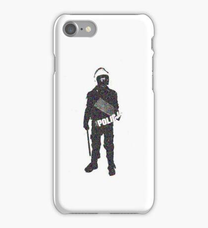 Police - Cops - Riot iPhone Case/Skin