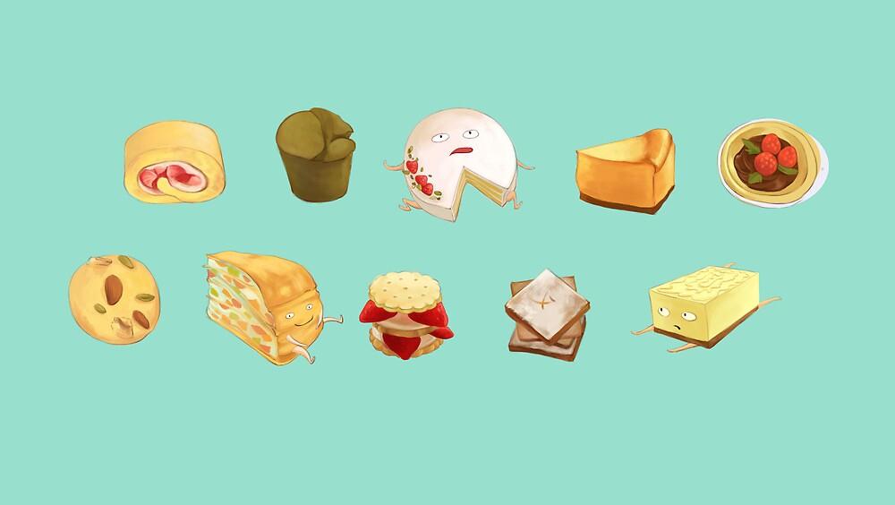 Desserts! by Jiaqihe