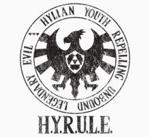 Agents of H.Y.R.U.L.E. (Zelda / S.H.I.E.L.D. parody) One Piece - Short Sleeve