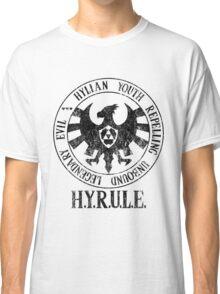 Agents of H.Y.R.U.L.E. (Zelda / S.H.I.E.L.D. parody) Classic T-Shirt