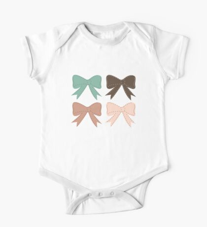 Bows One Piece - Short Sleeve