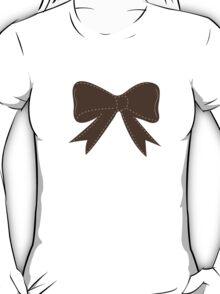 Brown bow T-Shirt