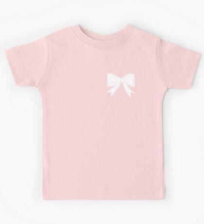 Pink bow Kids Tee