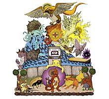 twitch plays pokemon red; the adventure remains! (color)  Photographic Print