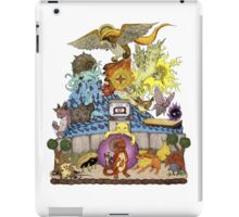 twitch plays pokemon red; the adventure remains! (color)  iPad Case/Skin