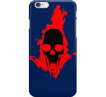 Flaming Vampire Skull iPhone Case/Skin