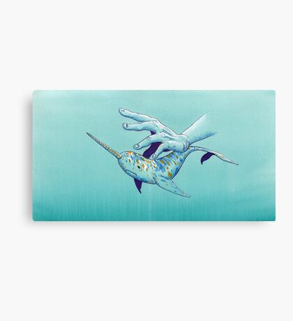 VIII - Narwhal Canvas Print