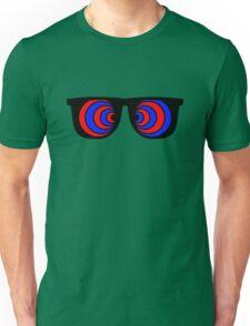 Trippy 3d Glasses Unisex T-Shirt