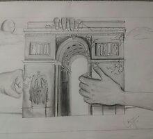 Had the Arc the Triumph  by beremedrano