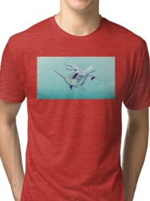 VIII - Narwhal Tri-blend T-Shirt