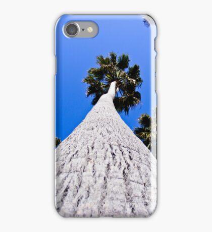 Palm Tree on Blue Sky iPhone Case/Skin