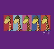 Art Giraffe- Andy Warhol Giraffe by Sundayink