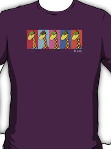 Art Giraffe- Andy Warhol Giraffe T-Shirt