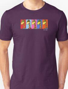 Art Giraffe- Andy Warhol Giraffe Unisex T-Shirt