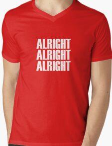 Alright Mens V-Neck T-Shirt