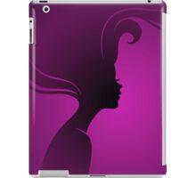 Vector illustration of Beautiful woman iPad Case/Skin