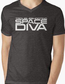 Troubleshooting Space Diva Mens V-Neck T-Shirt