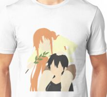 Sword Art Online Kirito and Asuna Unisex T-Shirt
