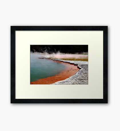 Colours of Nature NZ1 Framed Print
