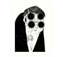 the four eyed Art Print