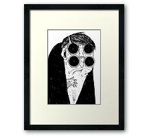the four eyed Framed Print
