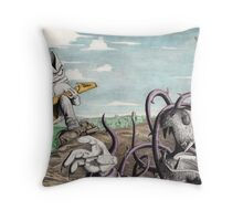 The Miser in the Bush I Throw Pillow