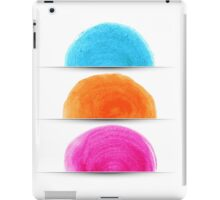 Watercolor design iPad Case/Skin