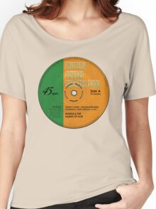 """MST3K -  """"Manos"""" record label Women's Relaxed Fit T-Shirt"""