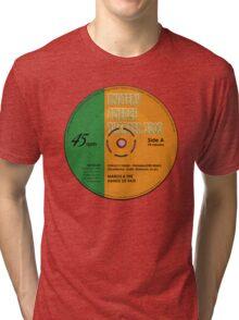 "MST3K -  ""Manos"" record label Tri-blend T-Shirt"