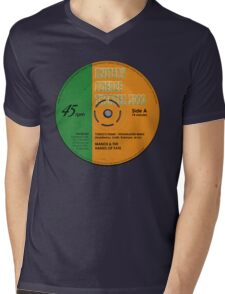 "MST3K -  ""Manos"" record label Mens V-Neck T-Shirt"