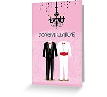 Happy Gay Wedding Greeting Card