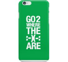 Go 2 Where The Smiles Are :-) : Green Phone Cover iPhone Case/Skin