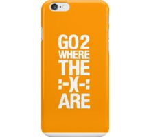 Go 2 Where The Smiles Are :-) : Yellow Phone Cover iPhone Case/Skin