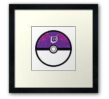 Twitch Ball Framed Print