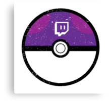 Twitch Ball Canvas Print
