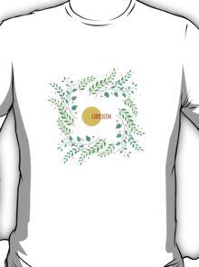 Watercolor floral design T-Shirt