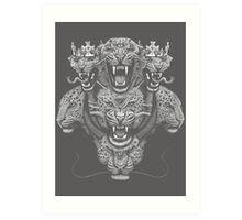 The Beast of Revelations Art Print
