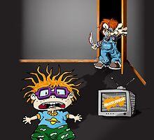 Chucky vs Chuckie by fathurdavega
