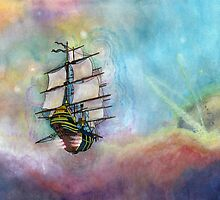 Mike's Treasure Planet by kpdesign