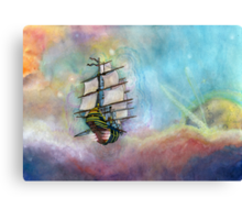 Mike's Treasure Planet Canvas Print