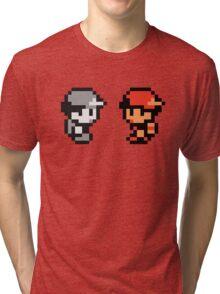 Red & AJDNNW Tri-blend T-Shirt