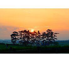 Danebury Ring Sunrise Photographic Print