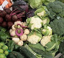 Fresh Vegetables at the Market by rhamm