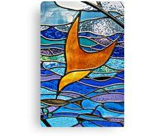 Strathdon Community Window Canvas Print
