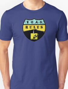 Road Rules MTV Unisex T-Shirt